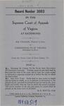 Ira Thacker v. Commonwealth of Virginia