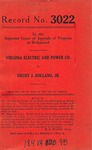 Virginia Electric and Power Company v. Drury J. Holland, Jr.
