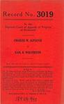 Charles W. Alpaugh v. Earl B. Wolverton