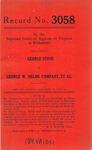 George Stone v. George W. Helme Company, et al.