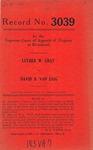 Luther W. Gray v. David B. Van Zaig