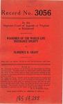 Woodmen of the World Life Insurance Society v. Florence B. Grant