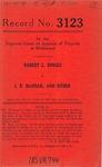 Robert L. Dinges v. J. B. Hannah and Nathaniel T. Walker