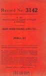 Helen Snyder Vellines, Administratrix of the Estate of Casper C. Vellines, deceased v. Delma L. Ely