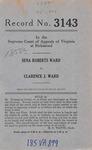 Sena Roberts Ward v. Clarence J. Ward