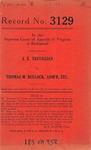 J. E. Trevillian v. Thomas M. Bullock, Administrator, etc.