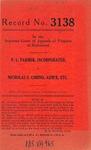 P. L. Farmer, Inc. v. Nicholas S. Cimino, Administrator, etc.