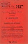 D. J. Sidney Dawkins v. Commonwealth of Virginia