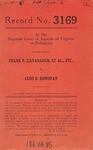Frank P. Kavanaugh, et al., etc., v. Cleo B. Donovan