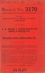 N. A. Martin, J. Harvie Martin and George N. Martin, etc., v. Westover Court Corporation, etc.