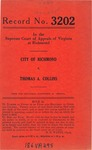 City of Richmond v. Thomas A. Collins