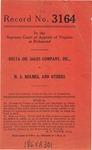 Delta Oil Sales Company, Inc., v. H. S. Holmes, et al.