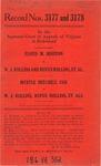 Floyd M. Rhoton v. W.J. Rollins and Rufus Rollins, et al. and, Myrtle Mitchell Cox v. W. J. Rollins, Rufus Rollins, et al.