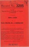 John Q. Adams v. Plaza Theatre, Inc.