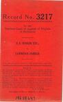 S. E. Rudlin, etc., v. Lawrence Parker