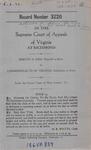 Harvey O. Kirk v. Commonwealth of Virginia