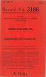 Virginia Stage Lines, Inc., v. Commonwealth of Virginia