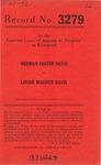 Herman Foster Davis v. Louise Maddux Davis