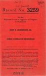 John R. Henderson, III v. Doris Lushbaugh Henderson