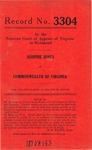 Johnnie Jones v. Commonwealth of Virginia