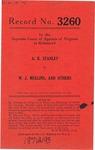 A. R. Stanley v. W. J. Mullins, et al.