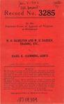 W. H. Hamilton and W. H. Darden, Trading, Etc., v. Hazel K. Glemming, Administratrix
