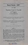 Virginia Auto Mutual Insurance Company v. Randolph L. Brillhart, an Infant, etc.