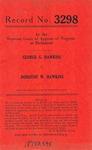 George G. Hawkins v. Dorothy W. Hawkins