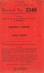 Margaret A. Paddock v. Leslie I. Mason