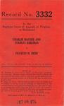 Charlie Mauser and Stanley Kirkman v. Frances M. Hebb, et al.