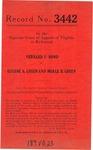 Vernard F. Bond v. Eugene A. Green and Merle B. Green