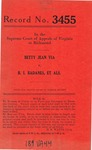 Betty Jean Via v. B. I. Badanes, et al.