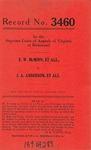 E. W. McMinn, et al. v. J. A. Anderson, et al.