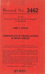 James T. Butler v. Commonwealth of Virginia, Division of Motor Vehicles