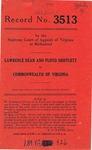 Lawrence Dean and Floyd Shifflett v. Commonwealth of Virginia
