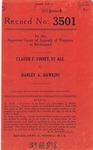 Claude F. Finney, et al., v. Harley A. Hawkins