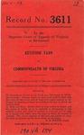 Keystone Tann v. Commonwealth of Virginia