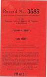 Richard Lambert v. Earl Allen
