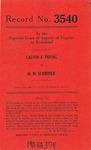 Calvin J. Young v. H. M. Schriner