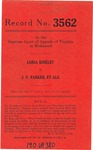 Loria Binkley v. J. V. Parker et al.