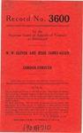 W. W. Oliver and Jesse James Allen v. Gordon Forsyth
