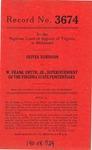 Oliver Robinson v. W. Frank Smyth, Jr., Superintendent of Virginia State Penitentiary