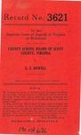County School Board of Scott County v. G. E. Dowell