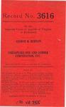 George H. Burton v. Chesapeake Box and Lumber Corporation, etc.