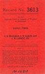 Ralph E. Turpin v. G. H. Branaman, E. W. Barger and C. M. Lambert, etc.