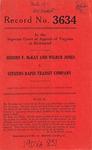 Johnny F. McKay and Wilbur Jones v. Citizens Rapid Transit Company