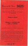 George M. Mann v. Virginia B. Clowser and John A. Clowser