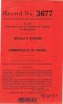 Douglas D. Hubbard v. Commonwealth of Virginia