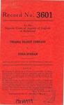 Virginia Transit Company v. Doris Durham