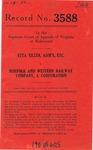 Etta Tiller, Administratrix of the Estate of William R. Tiller, Deceased v. Norfolk and Western Railway Company. A Corporation